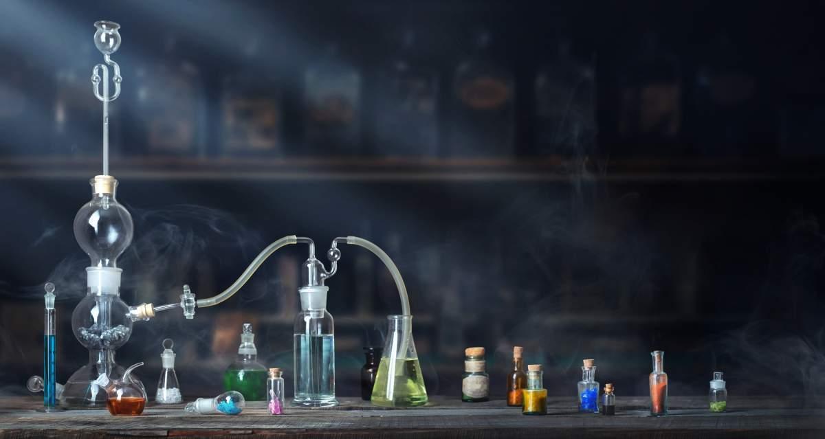 Scientific Glassware Experiments